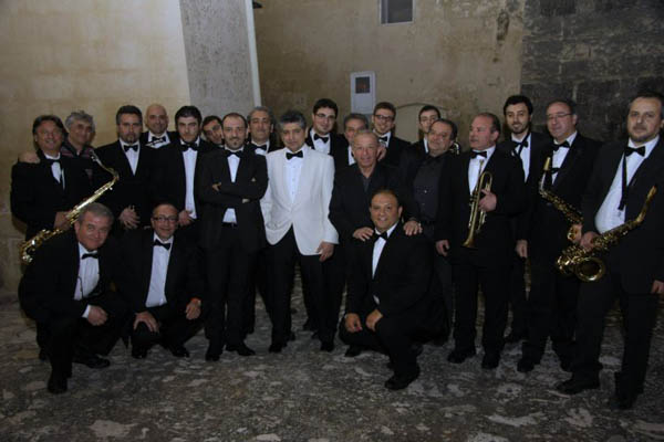 Frankie Roma Rat Pack Singer with LJP Big Band Matera